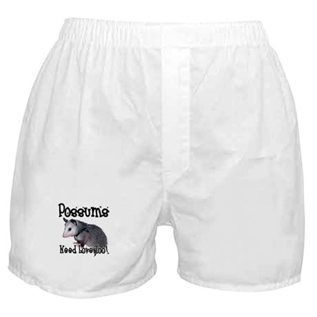 Possums Need Love Boxer Shorts