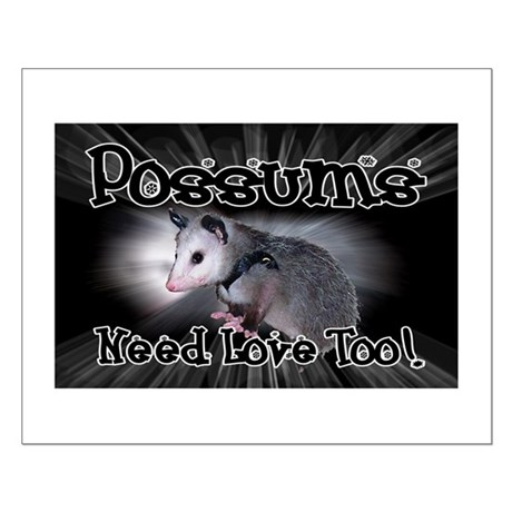 Possums Need Love Small Poster