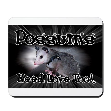 Possums Need Love Mousepad