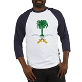 Saudi Arabia Coat of Arms Baseball Jersey
