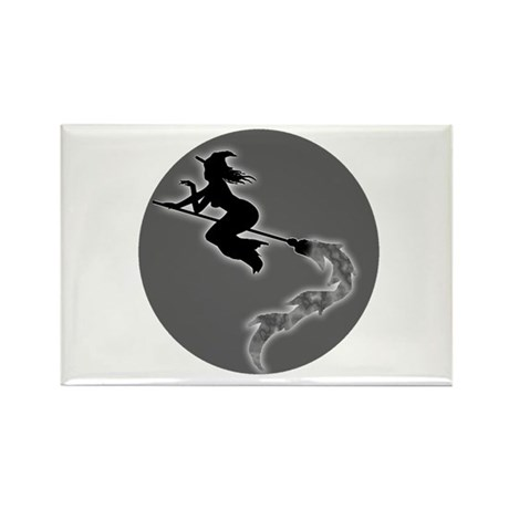 Witch Moon Rectangle Magnet (10 pack)