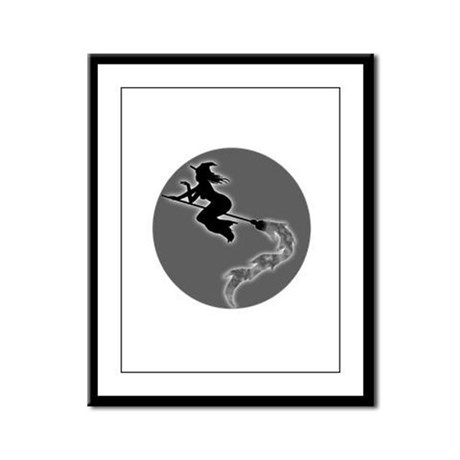 Witch Moon Framed Panel Print