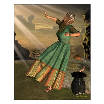 Annunciation II 16x20 Poster Print
