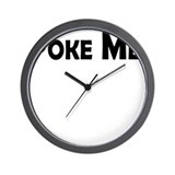 Poke Me! Wall Clock