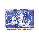 Snow Valley, Vermont Mini-Poster