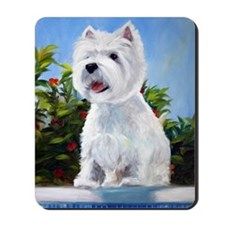 WESTIE DOG Mousepad
