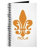 NOLA Orange Fleur Journal