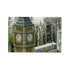 House of Parliament Rectangle Magnet