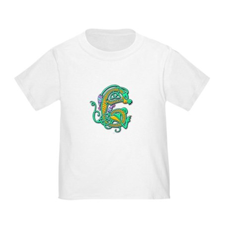 Celtic Aqua Beast (Front) Toddler T-Shirt