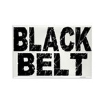 BLACK BELT - WEATHERED 1 Rectangle Magnet (100 pac