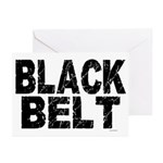 BLACK BELT - WEATHERED 1 Greeting Cards (Pk of 20)