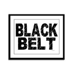 BLACK BELT - WEATHERED 1 Framed Panel Print