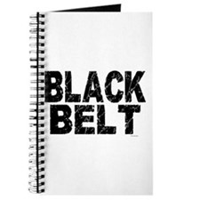 BLACK BELT - WEATHERED 1 Journal