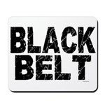 BLACK BELT - WEATHERED 1 Mousepad