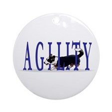 Tri Cardigan Welsh Corgi Agility Ornament