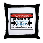 Optometrist Throw Pillow