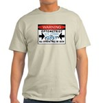 Optometrist Ash Grey T-Shirt