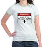 Pregnant Jr. Ringer T-shirt