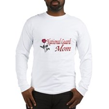 national guard mom Long Sleeve T-Shirt