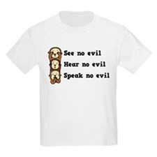 See Hear Speak No Evil T-Shirt