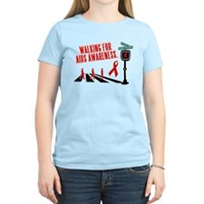Walking for AIDS Awareness T-Shirt