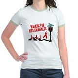 Walking for AIDS Awareness T