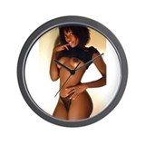 Exotic Erotica Wall Clock