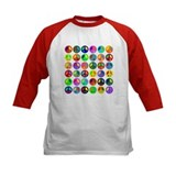 Peace Signs-colorful Tee