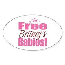 Britney's Babies Oval Decal