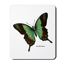 Green Butterfly Mousepad