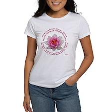Buddha Lotus Flower Tee