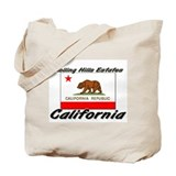 Rolling Hills Estates California Tote Bag