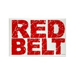 RED BELT 1 Rectangle Magnet (100 pack)