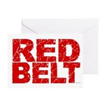 RED BELT 1 Greeting Card