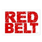 RED BELT 1 Postcards (Package of 8)