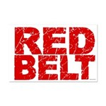 RED BELT 1 Mini Poster Print