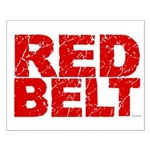 RED BELT 1 Small Poster