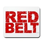 RED BELT 1 Mousepad
