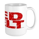 RED BELT 1 Large Mug