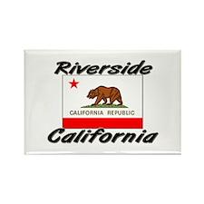 Riverside California Rectangle Magnet