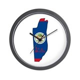 Cool Belize Wall Clock