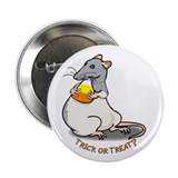 "Blue Candy Corn Rat 2.25"" Button (10 pack)"