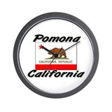 Pomona California Wall Clock