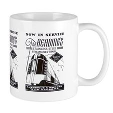 Reading Crusader Streamliner Mug