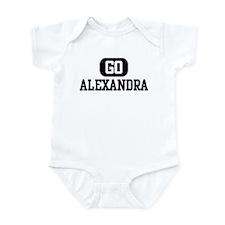 Go ALEXANDRA Infant Bodysuit