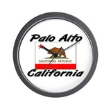 Palo Alto California Wall Clock