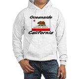 Oceanside California Hoodie Sweatshirt