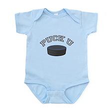 Puck U Hockey Infant Bodysuit