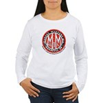Women's Long Sleeve T-Shirt with Vintage Marvel