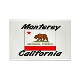 Monterey California Rectangle Magnet